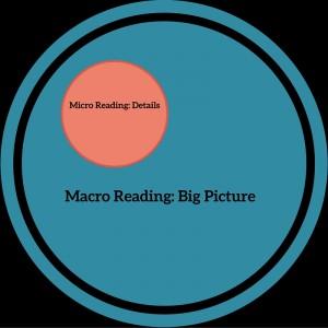 Macro and Micro Reading