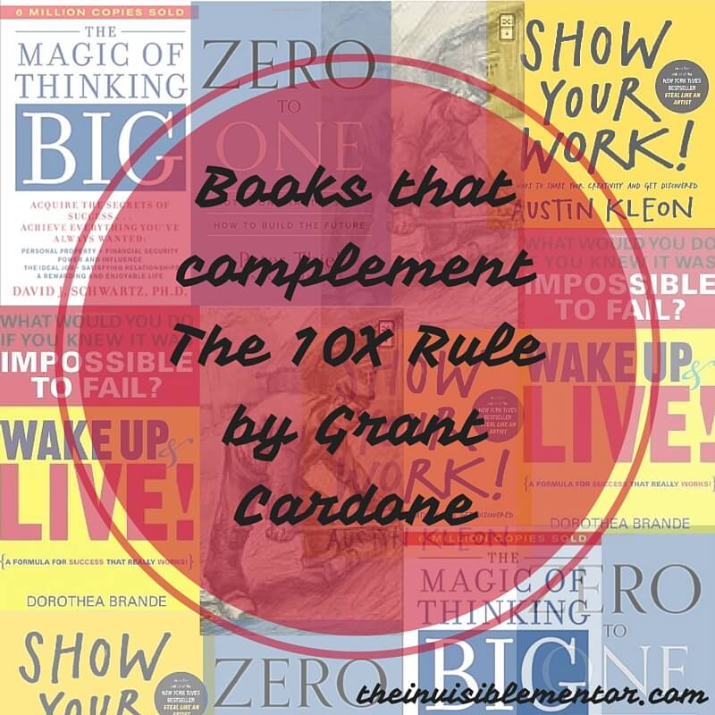 the 10x rule by Grant cardone