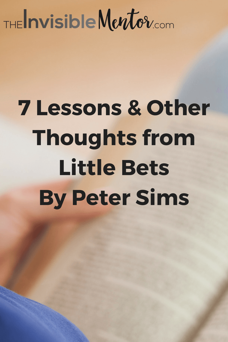 little bets, little bets by peter sims,little bets peter sims,