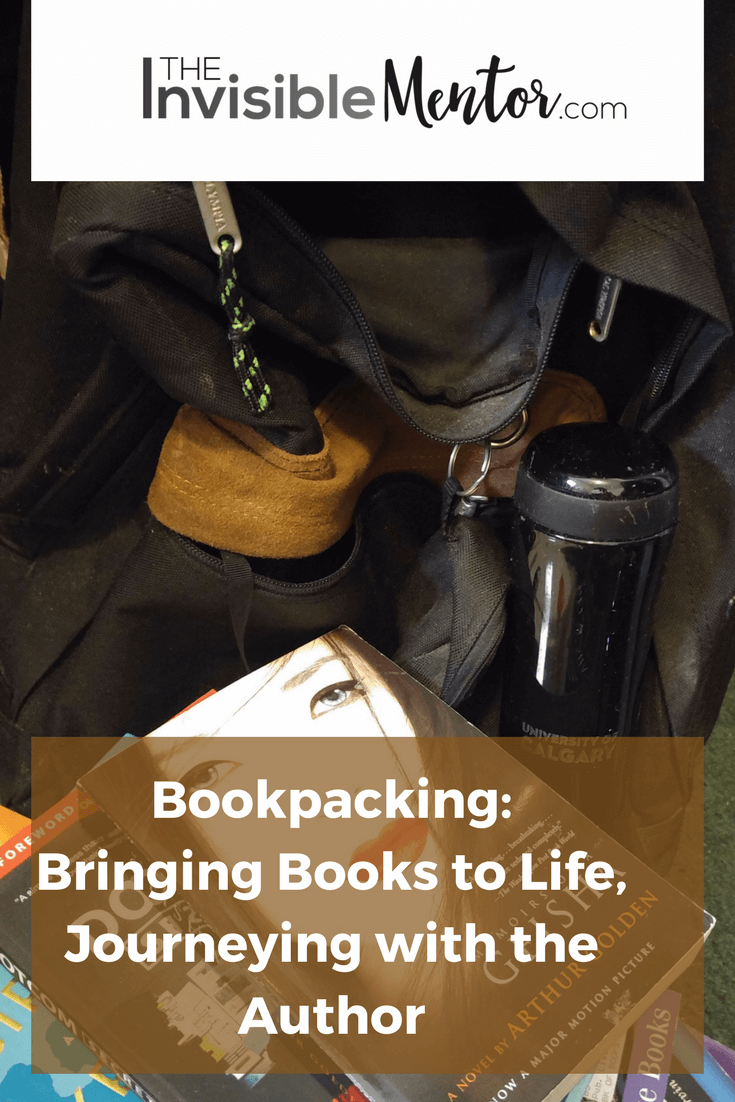 bookpacking, experiencing books, traveling to places in books