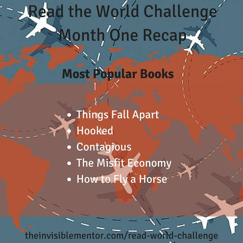 Read the World Challenge Month One Recap