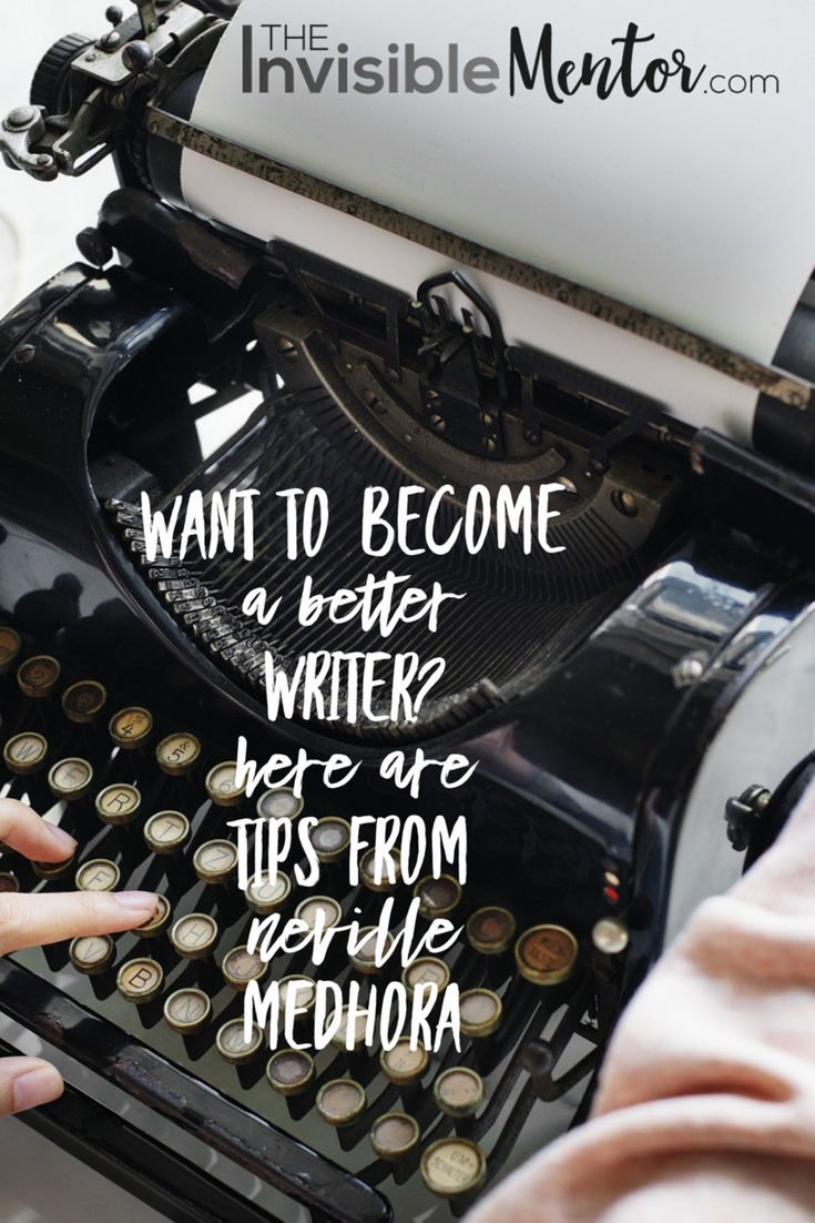 become a better writer, neville medhora, This book will teach you how to write better