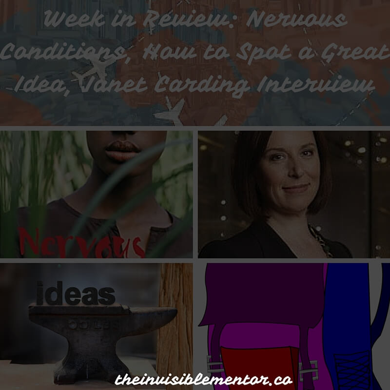 Nervous Conditions, How to Spot a Great Idea, Janet Carding Interview