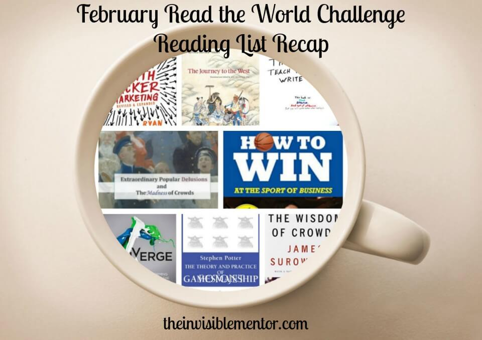 Read the World Challenge Reading List