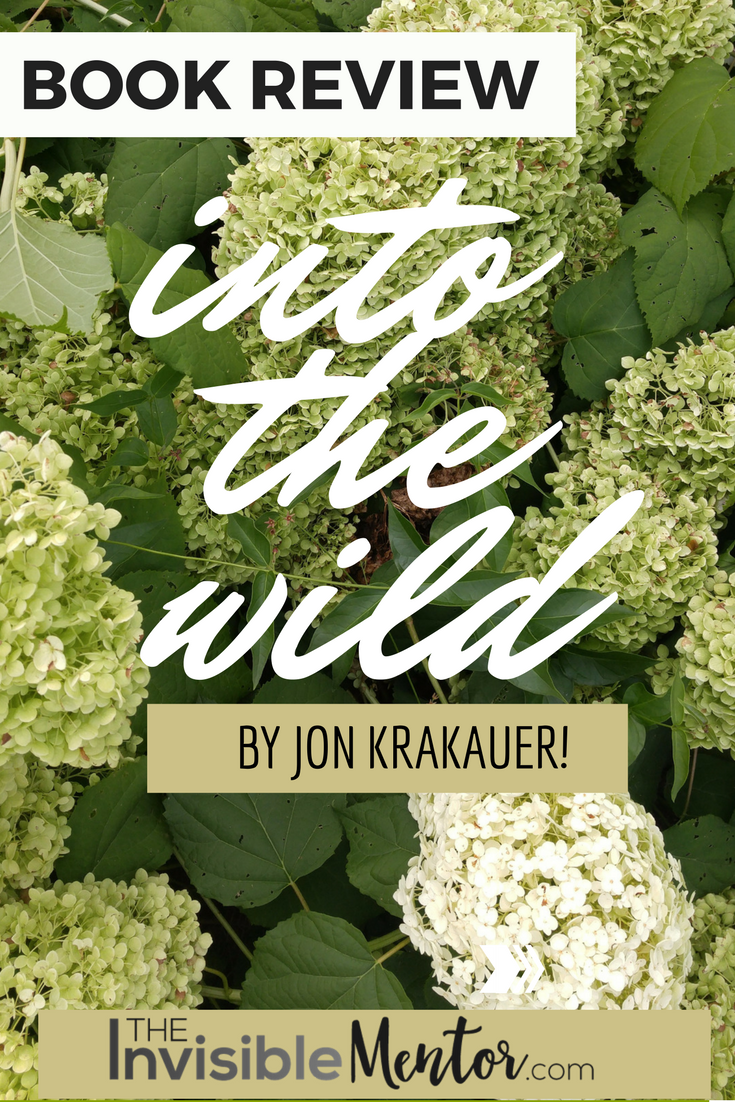 book review about into the wild by jon krakauer In april 1992 a young man from a well-to-do family hitchhiked to alaska and walked alone into the  into the wild jon krakauer constructs a  book review it may.