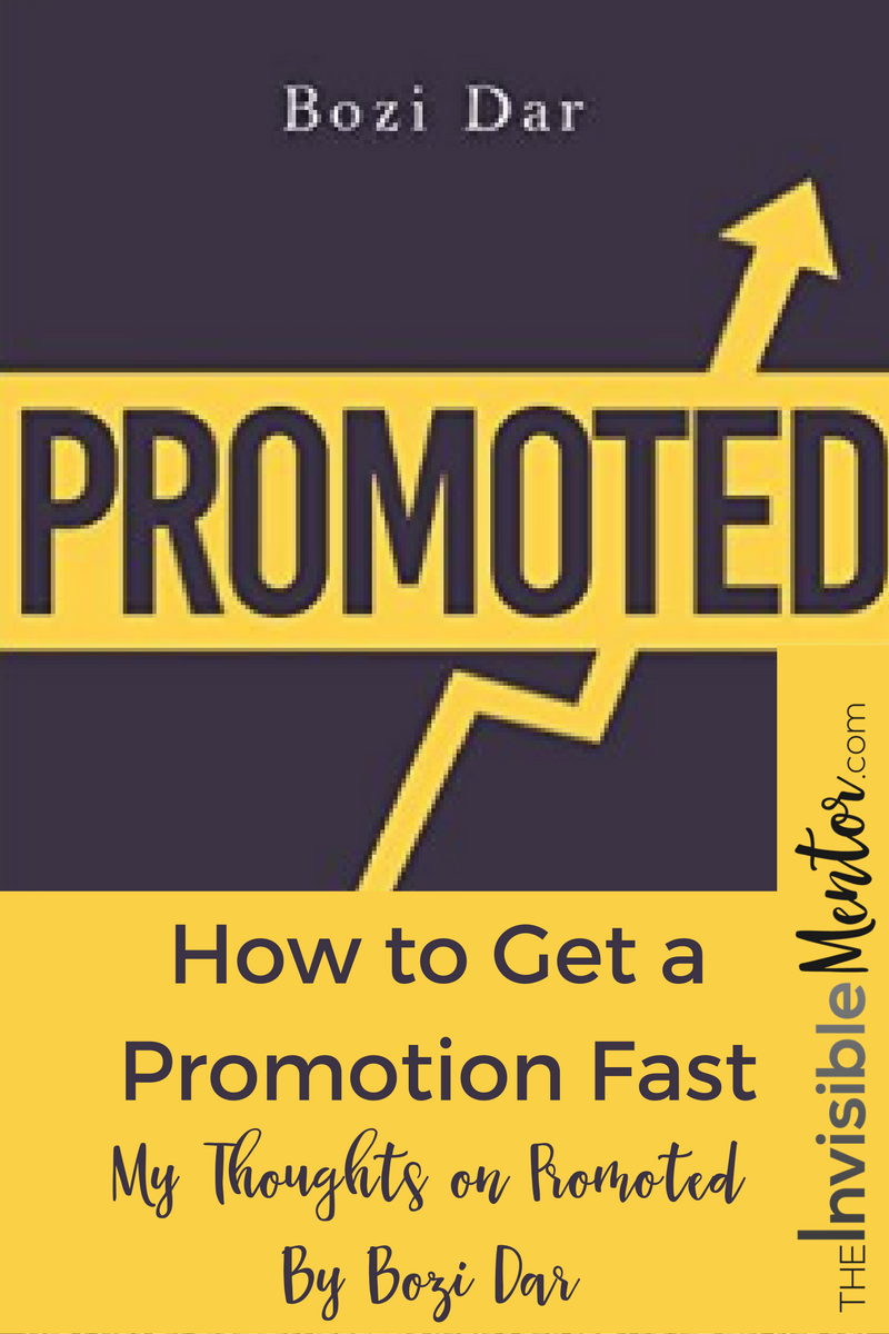 how to get a promotion fast key things you must do