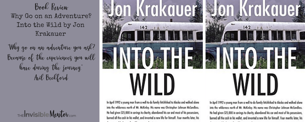 an analysis of the book into the wild by jon krakauer Need help with chapter 8 – alaska in jon krakauer's into the wild check out our revolutionary side-by-side summary and analysis.