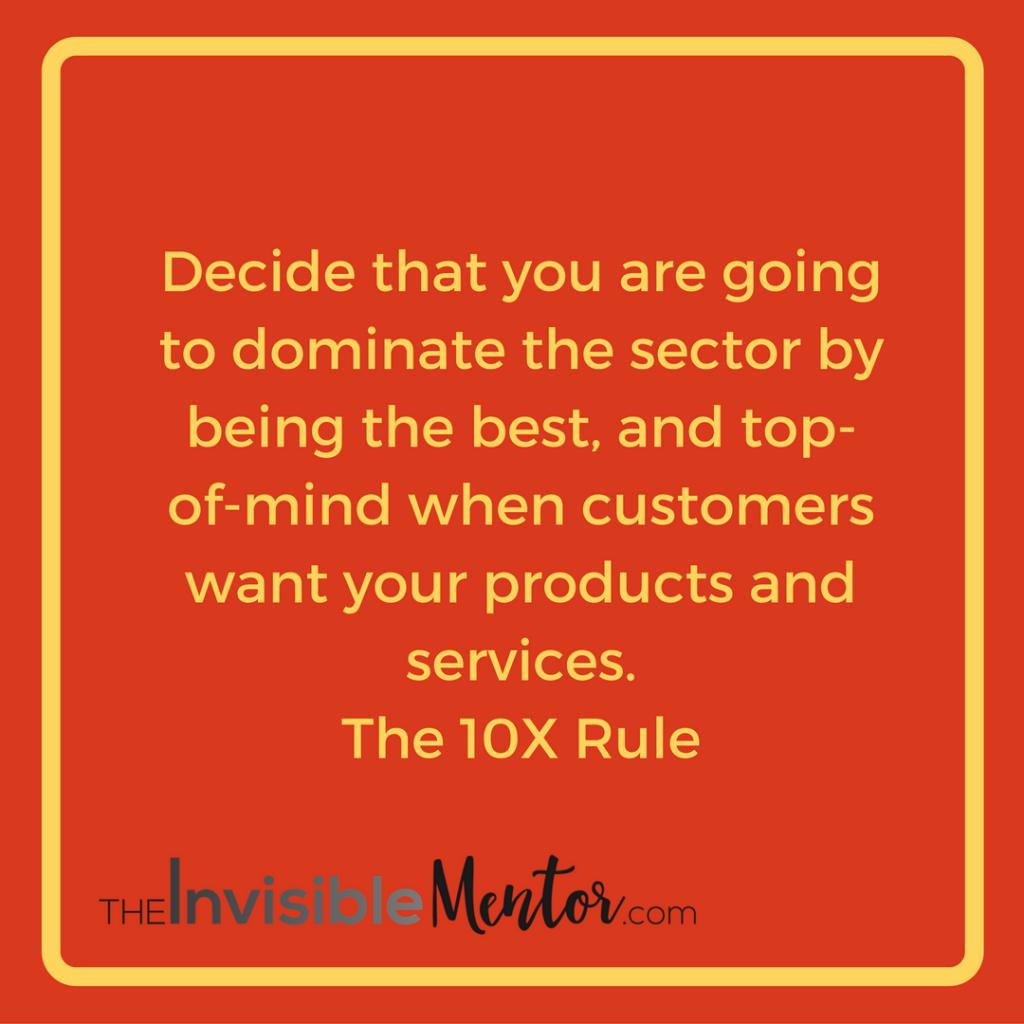 10x rule grant cardone