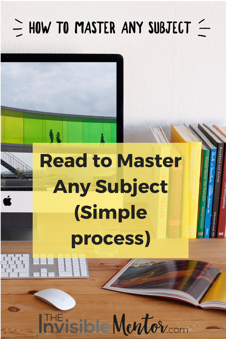 mastery subject matter,how to master a subject,how to master any subject,