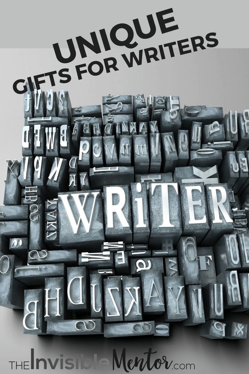 the most awesome unique gifts for writers for christmas 2016
