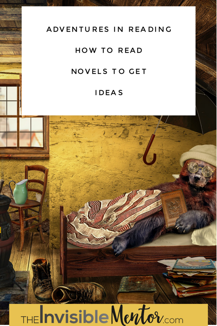 how to read, how to read novels, how to read to get ideas, how to read literature