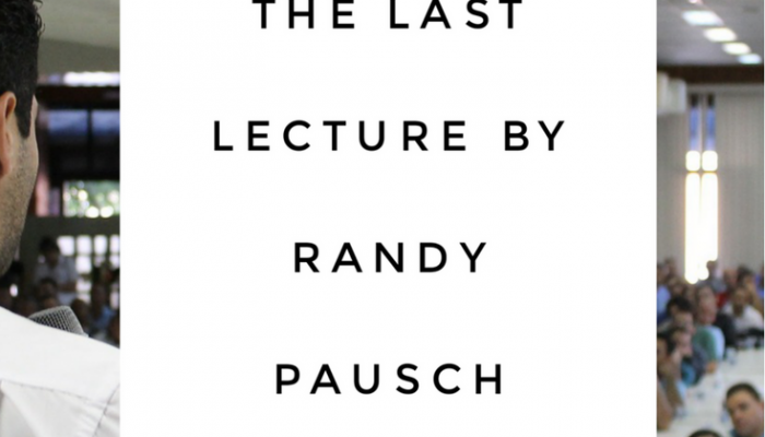 Review: The Last Lecture by Randy Pausch