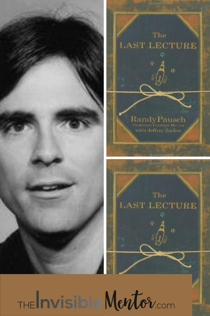 randy pausch the last lecture By carnegie mellon professor randy pausch (born: october 23, 1960 / died:  july 25, 2008) shortly after learning that he had incurable.