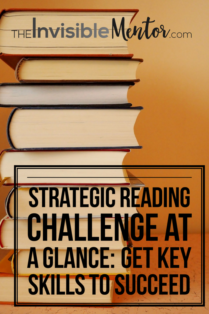 Strategic Reading Challenge at a Glance, get key skills to succeed