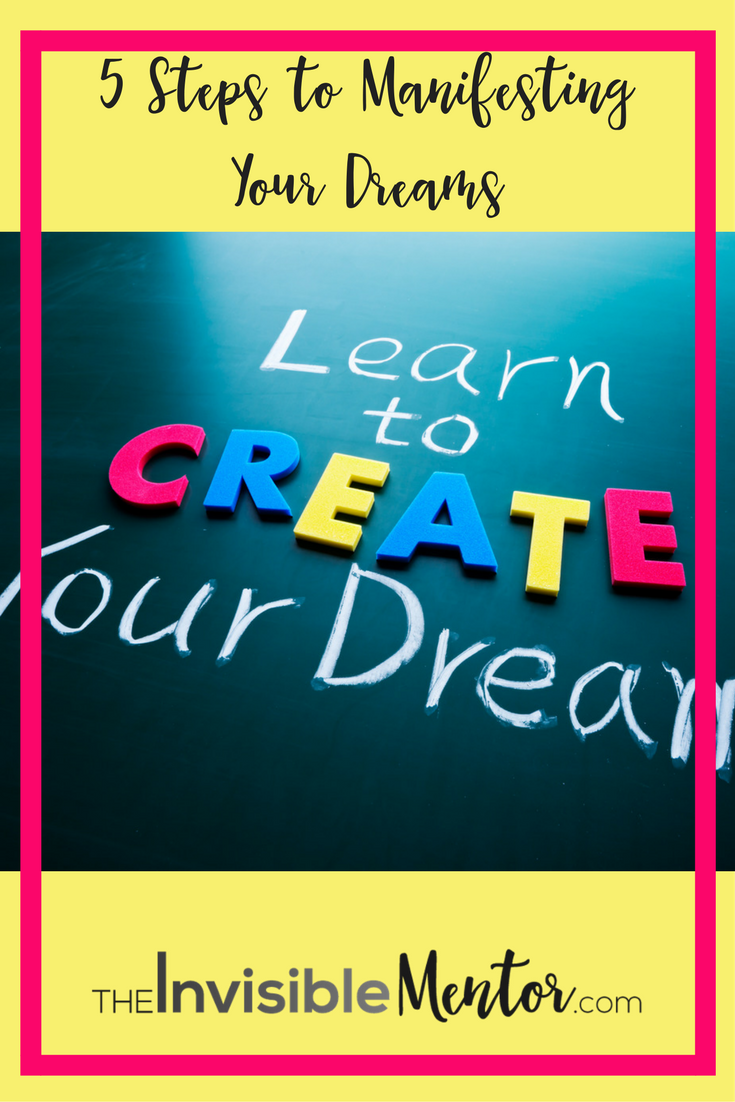 Manifesting Your Dreams, creating vision boards