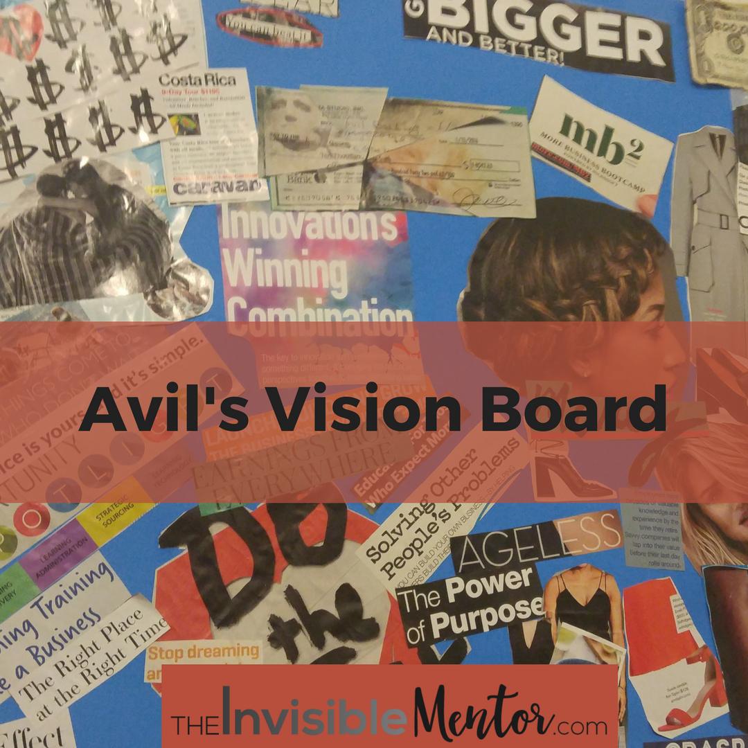 vision board, create vision board