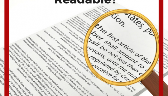 Create Readable Documents: Are Your Work Reports Readable?