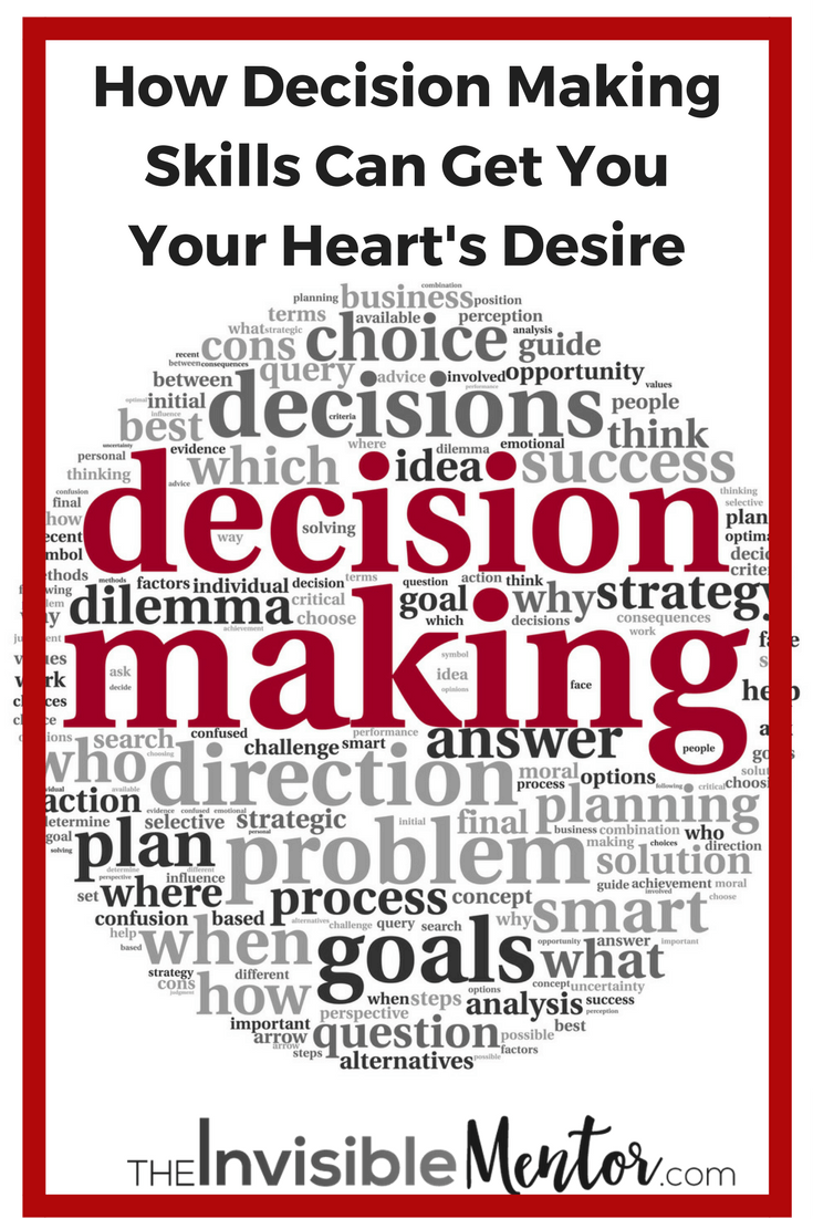 Decision Making Skills, how to make better decisions, improved decision making, hone decision making skills