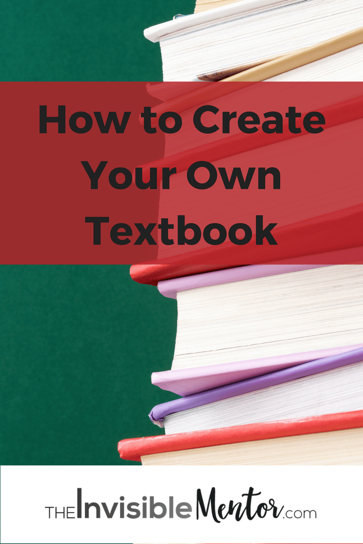 create your own textbooks