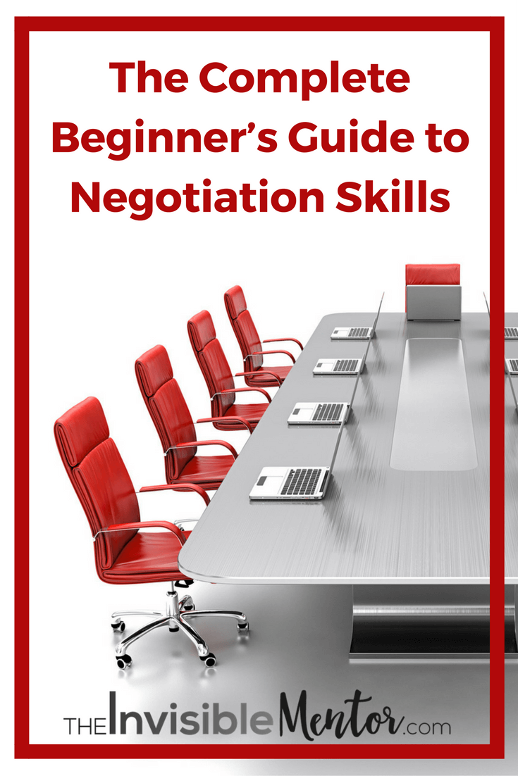 Beginner's Guide to Negotiation Skills, negotiation skills