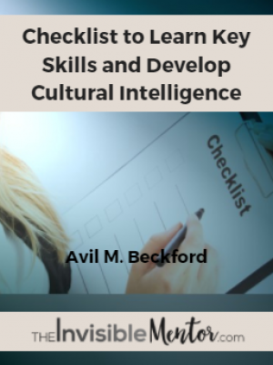 Checklist to Learn Key Skills and Develop Cultural Intelligence