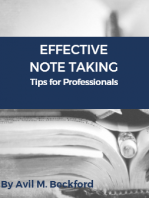 Effective Note Taking Tips