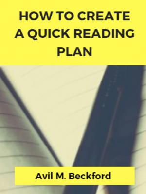 Read More Books? Create a Quick Reading Plan