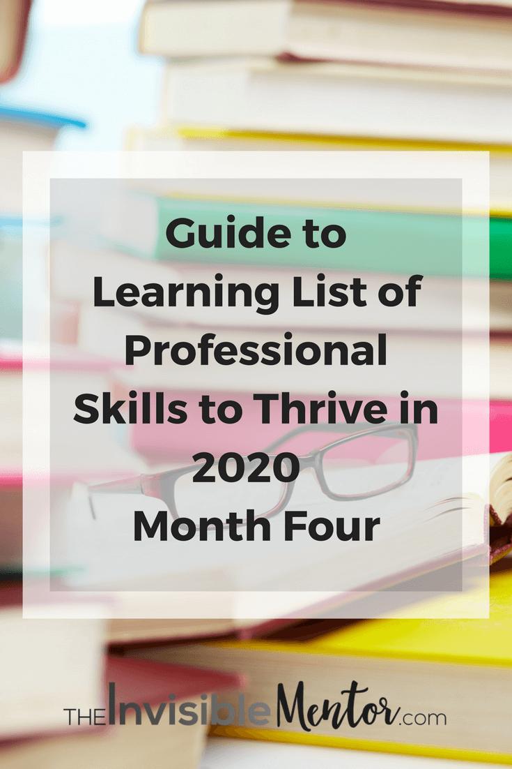a list of professional skills