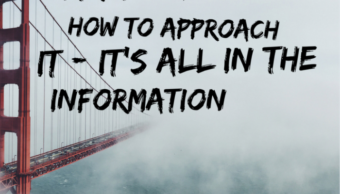 Stretch Assignment, How to Approach It  – It's All in the Information