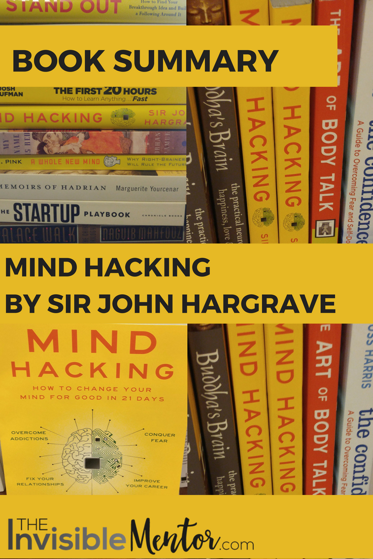 mind hacking john hargrave, mind hacking, replace negative thoughts