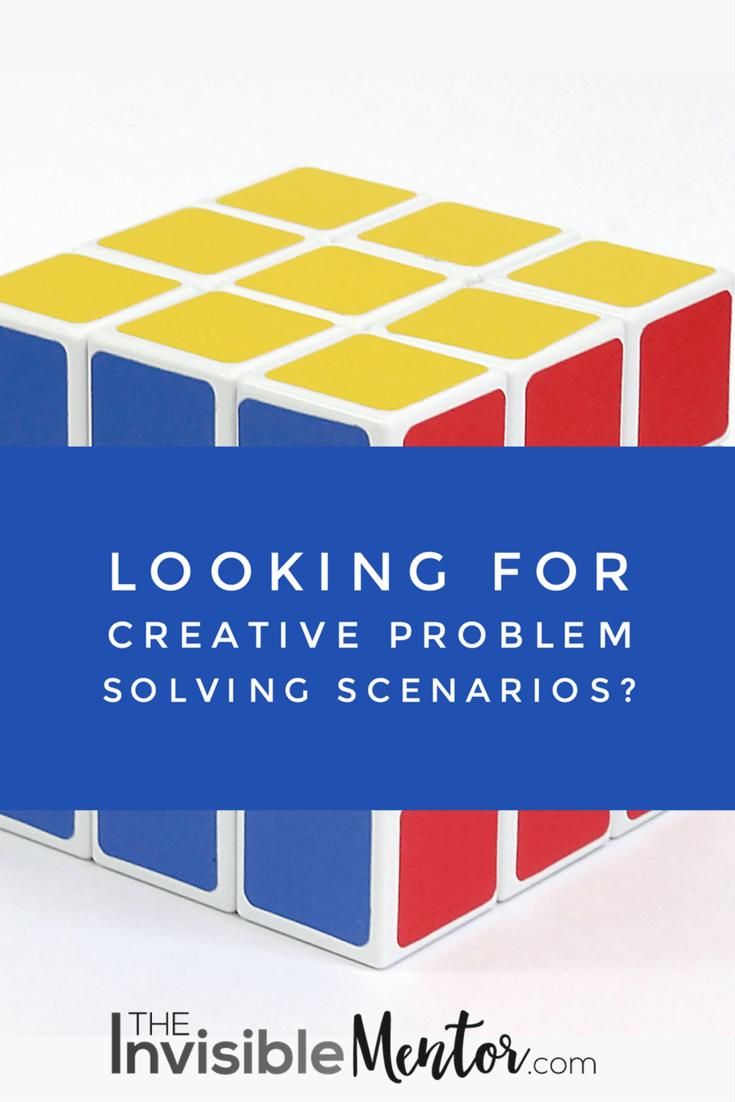 creative problem solving scenarios