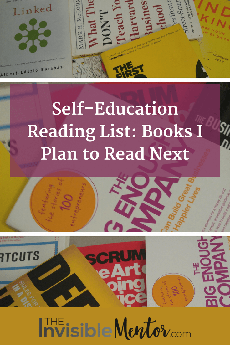 self-education reading list