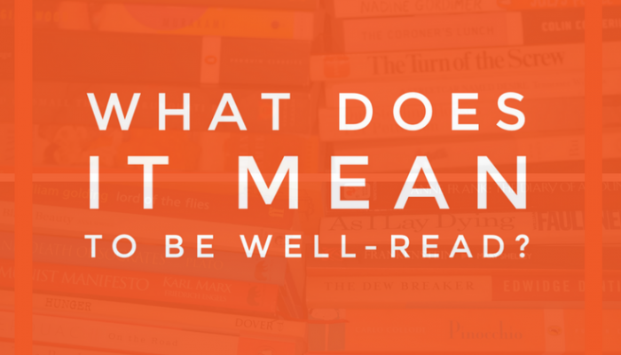 What Does It Mean to Be Well-Read?