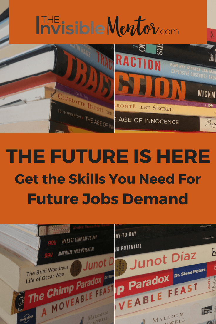 future jobs demand, get the skills you need or future jobs, list of professional skills