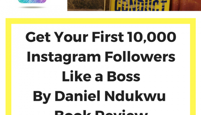 Get Your First 10,000 Instagram Followers Like a Boss, Book Review