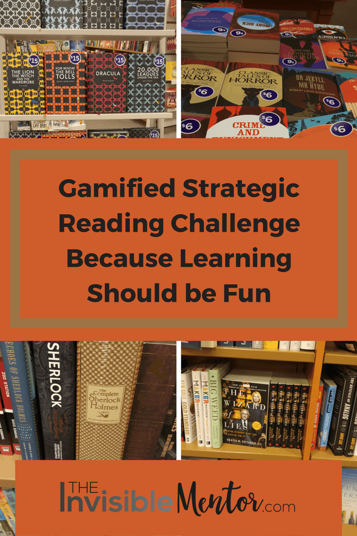 gamified strategic challenge, gamification reading challenge