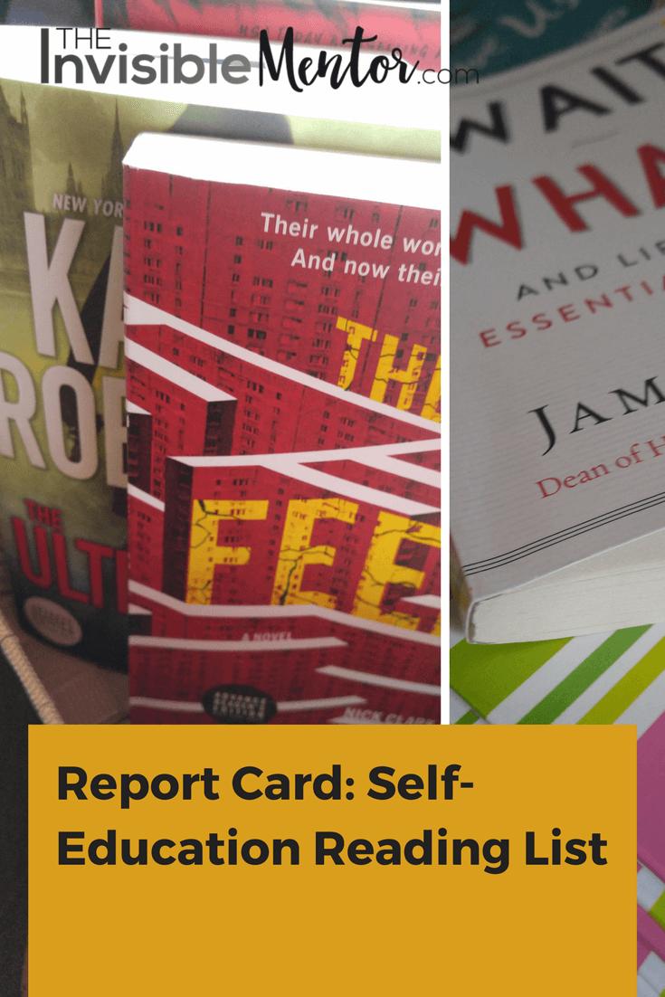 Self-Education Reading List