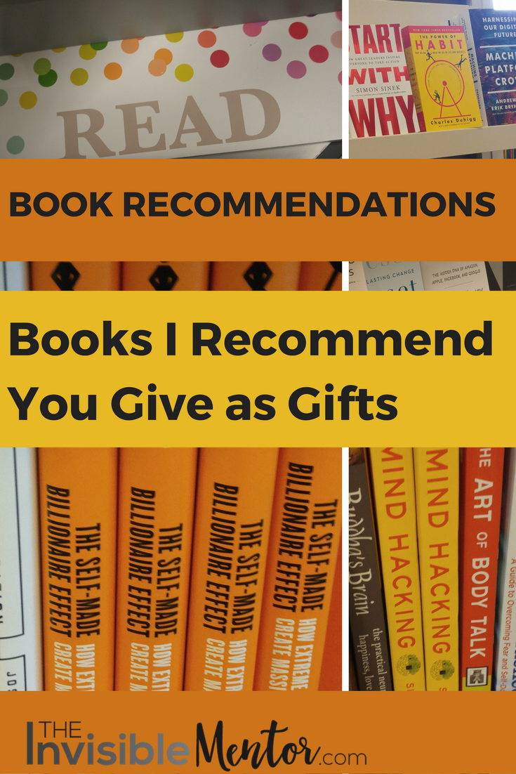 Books I Recommend You Give as Gifts