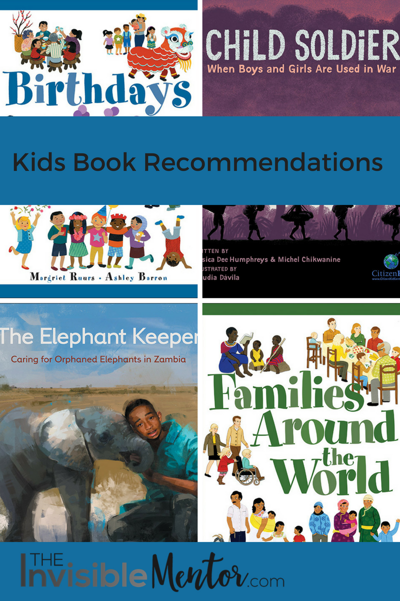 book recommendations for kids, books to read with your kids