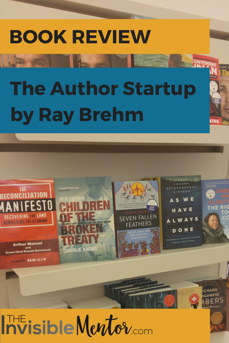 Author Startup by Ray Brehm, author startup