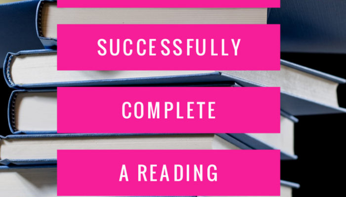 Be Awesome: How to Successfully Complete a Reading Challenge