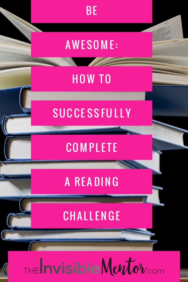 Successfully Complete a Reading Challenge