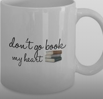 Valentine's Day Coffee Mug for Book Lovers
