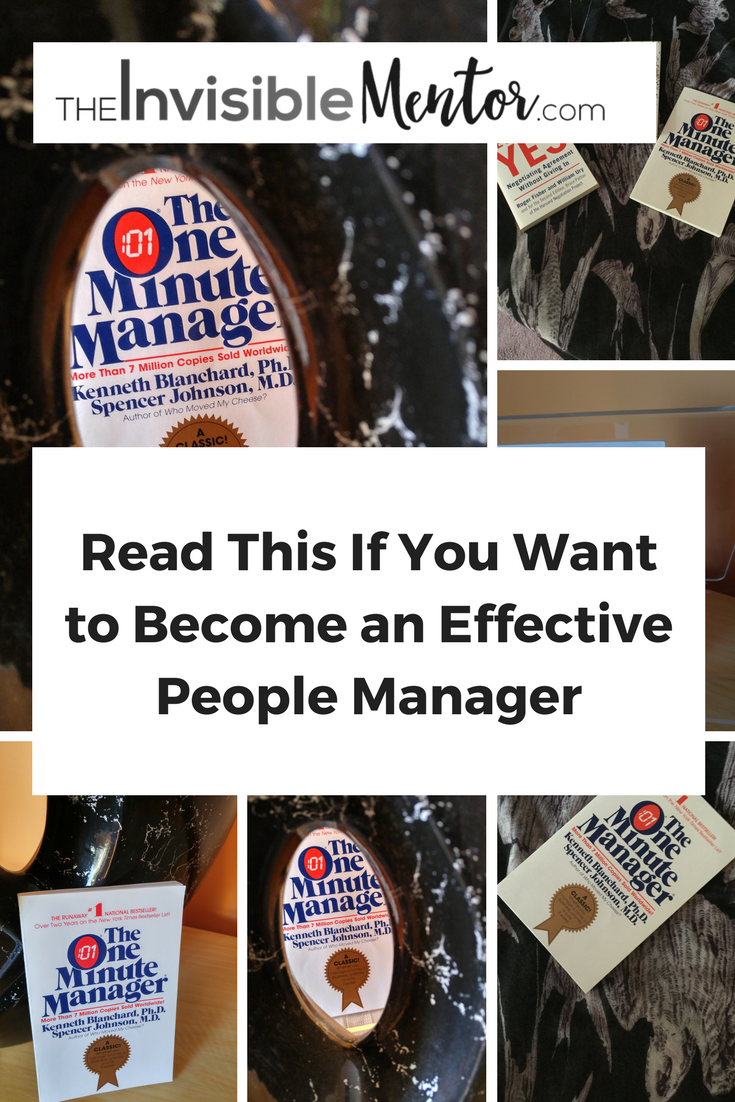 people manager, people management, the one minute manager, summary one minute manager, One Minute Manager by Kenneth Blanchard and Spencer Johnson