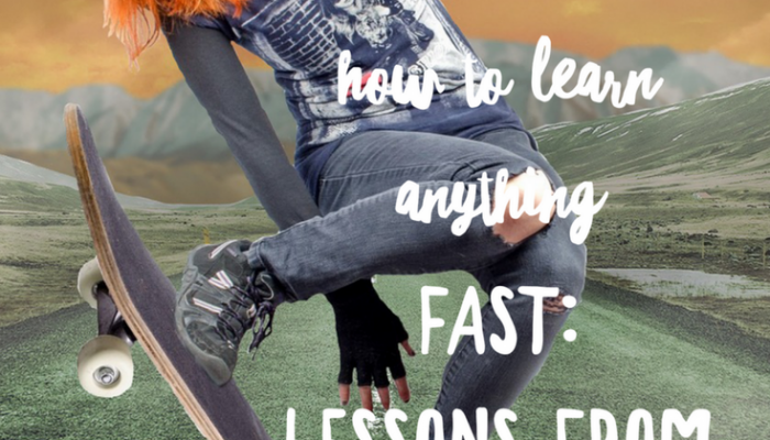 How to Learn Anything Fast: Lessons from Singers and Actors