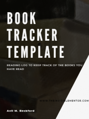 Book Tracker: Reading Log to Keep Track of Books Read