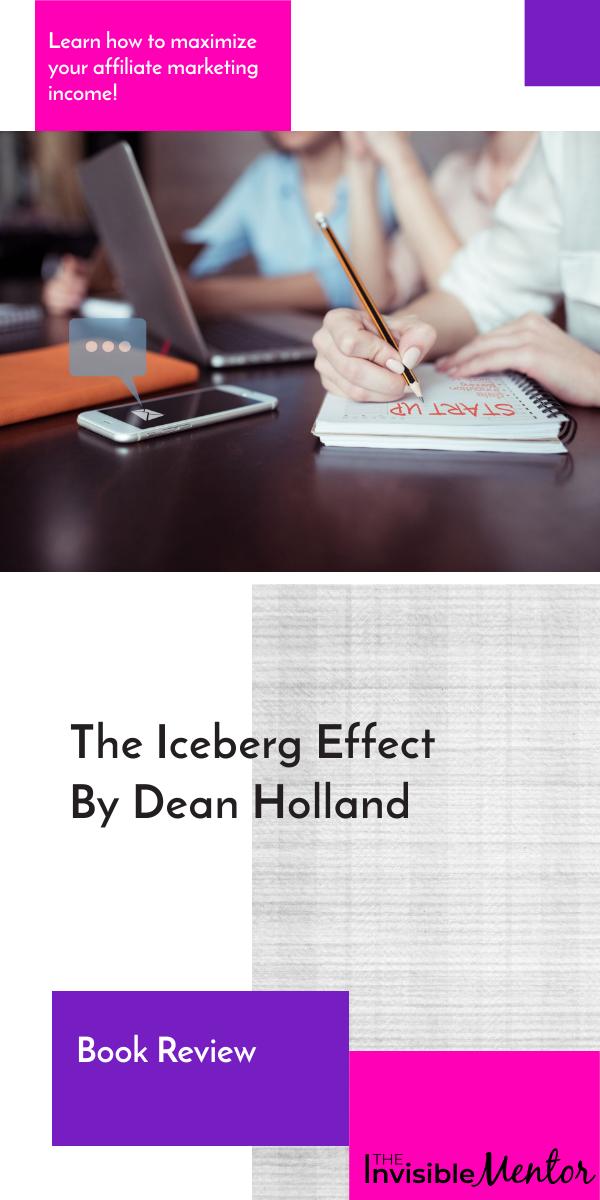 iceberg effect dean hooland, iceberg effect book review, iceberg effect review, iceberg effect summary
